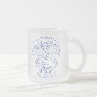 Taberna de la sirena (esquema) taza de cristal