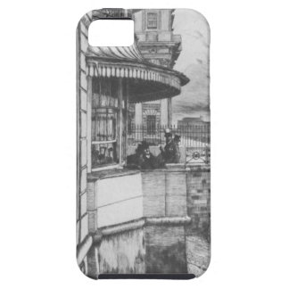 Taberna de Trafalgar de James Tissot iPhone 5 Carcasas