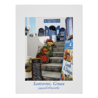 taberna griega, poster