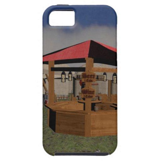 Taberna medieval iPhone 5 Case-Mate coberturas