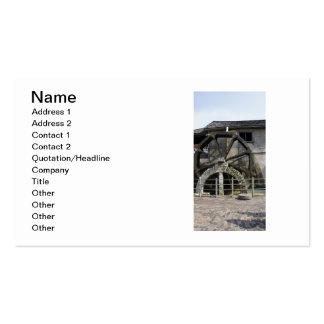 Taberna superior del molino tarjetas de visita