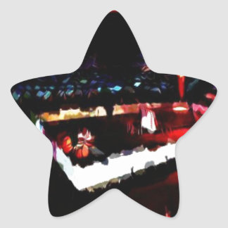 Tabernacle of God in the Wilderness Star Sticker