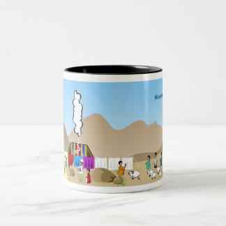 Tabernacle Two-Tone Coffee Mug