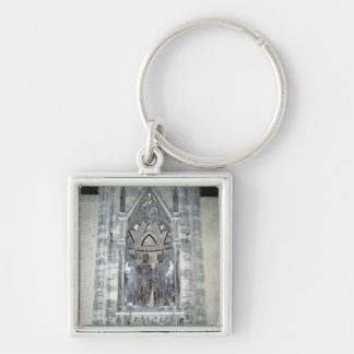 Tabernacle with Four Crowned Saints Keychain