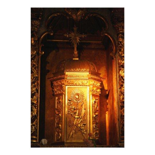 Tabernáculo católico cojinete