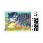 Tabi-Tiger Postage Stamp