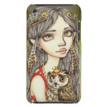 Tabitha and her Royal Owlet Barely There iPod Cover