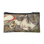 Tabitha and her Royal Owlet Cosmetic Bags