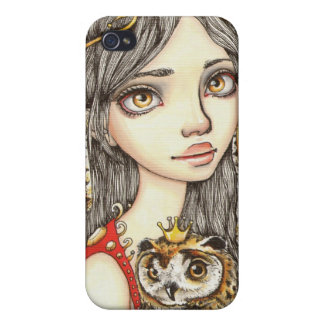 Tabitha and her Royal Owlet Case For iPhone 4