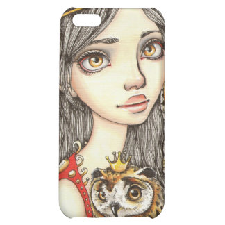 Tabitha and her Royal Owlet iPhone 5C Case