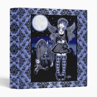"""Tabitha"" Gothic Guardian Angel Art Binder"