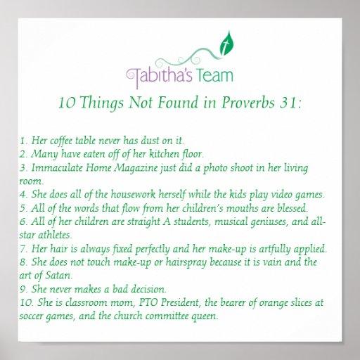 Tabitha's Team Poster