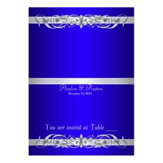 Tabla azul Placecard de la grande duquesa Tarjetas De Visita Grandes