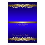 Tabla azul Placecard de la voluta de la grande duq Tarjeta Personal