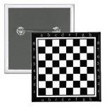 tabla clásica del ajedrez pins