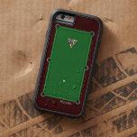Tabla de billar de la piscina funda de iPhone 6 tough xtreme