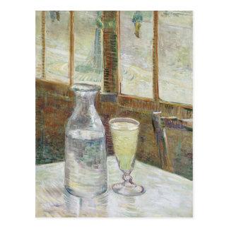 Tabla de Café con la postal del absinth