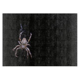 Tabla de cortar cruzada del ~ de la araña