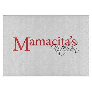 Tabla de cortar de la cocina de Mamacita