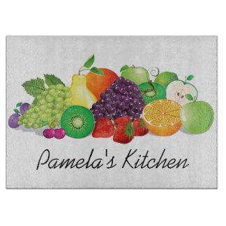 Tabla de cortar del diseño de la fruta