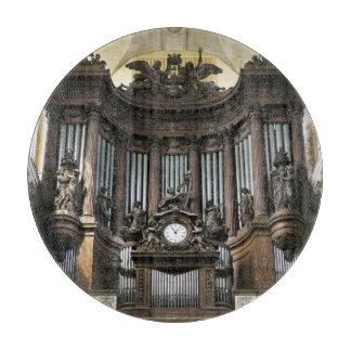 Tabla de cortar del órgano del St Sulpice