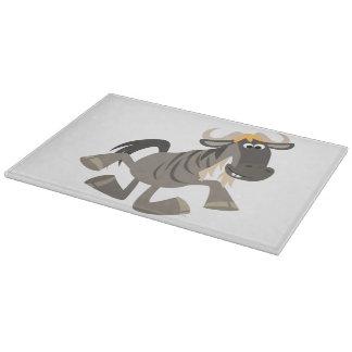 Tabla de cortar del Wildebeest del baile de golpec