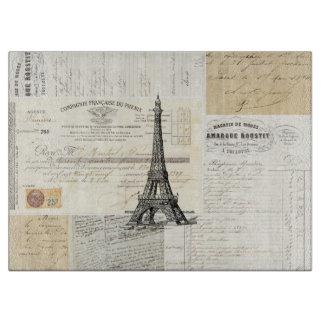 Tabla de cortar francesa de las Ephemeras de París