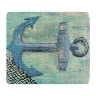 Tabla de cortar náutica del ancla