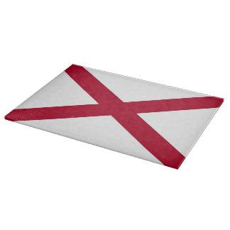 Tabla de cortar patriótica con la bandera de