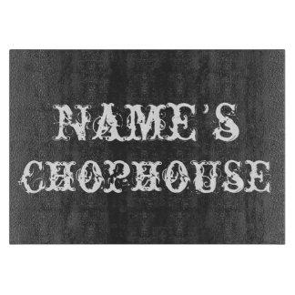 Tabla de cortar personalizada del Chophouse