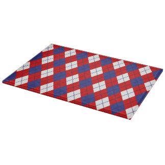TABLA DE CORTAR roja, blanca, azul de Argyle
