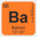 Tabla de elementos periódica (bario)