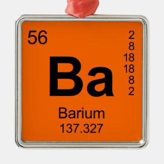 Tabla de elementos periódica bario