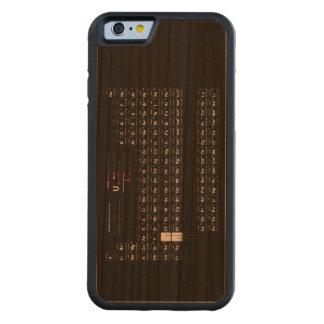 Tabla de elementos periódica funda de iPhone 6 bumper cerezo