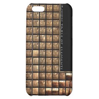 Tabla de elementos periódica de madera