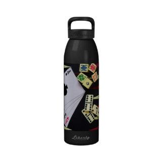 Tabla de juego botellas de beber
