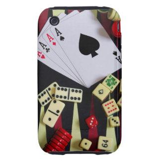 Tabla de juego tough iPhone 3 cárcasa