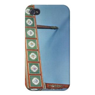 Tabla de juegos de Sevres con las placas de la por iPhone 4/4S Carcasa