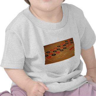 Tabla de la ruleta camiseta