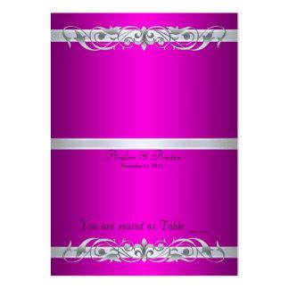 Tabla de plegamiento rosada de la grande duquesa tarjetas de visita grandes