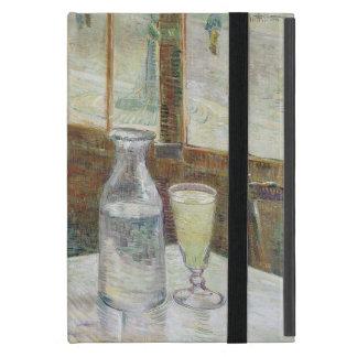 Tabla del café con el ajenjo de Vincent van Gogh iPad Mini Funda
