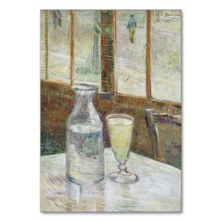 Tabla del café con el ajenjo de Vincent van Gogh