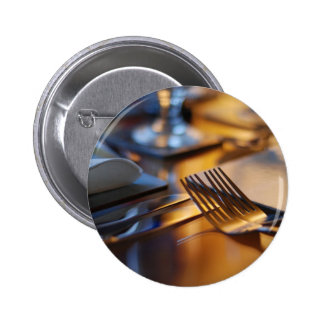 Tabla fijada para cenar pin redondo de 2 pulgadas