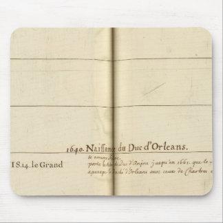 Tabla genealógica, Francia Mouse Pad