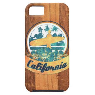 Tabla hawaiana de California Funda Para iPhone 5 Tough