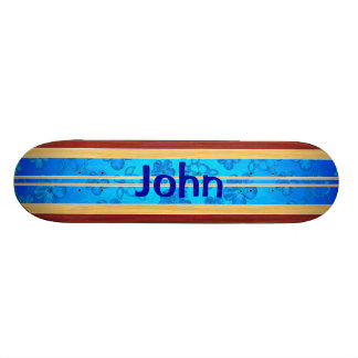 Tabla hawaiana de madera falsa de Honu Hawiian Monopatin Personalizado