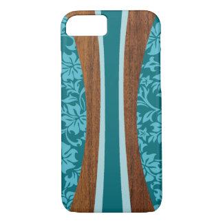 Tabla hawaiana de madera hawaiana de Laniakea Funda iPhone 7