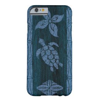 Tabla hawaiana de madera hawaiana del Tapa samoano Funda De iPhone 6 Slim