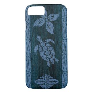 Tabla hawaiana de madera hawaiana del Tapa samoano Funda iPhone 7