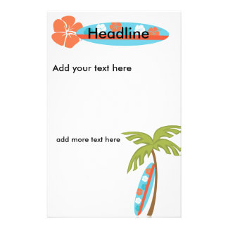 "Tabla hawaiana del hibisco folleto 5.5"" x 8.5"""